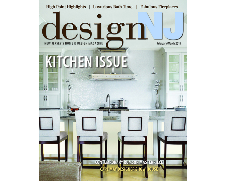 The Summit Avenue Renovation is featured in the February/March issue of  Design NJ