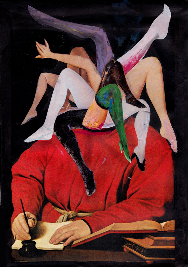 метаморфоза 32,  2013, mixed media collage