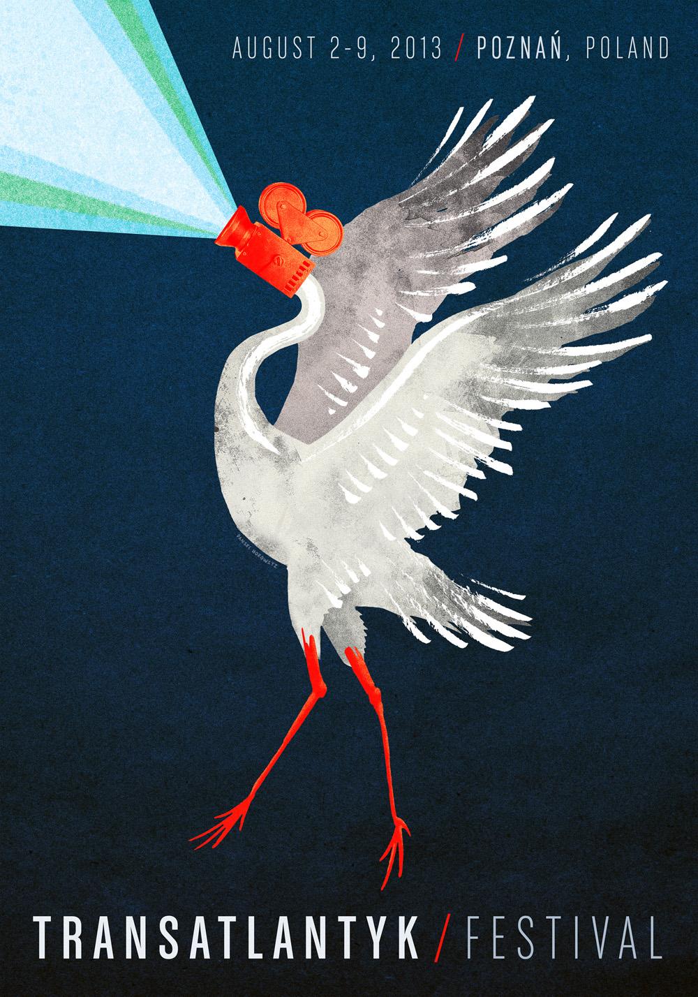 Transatlantyk Festival poster , 2013