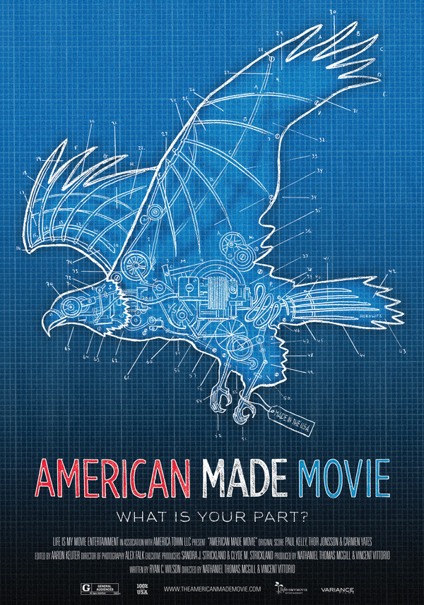 American Made Movie  film poster, 2013