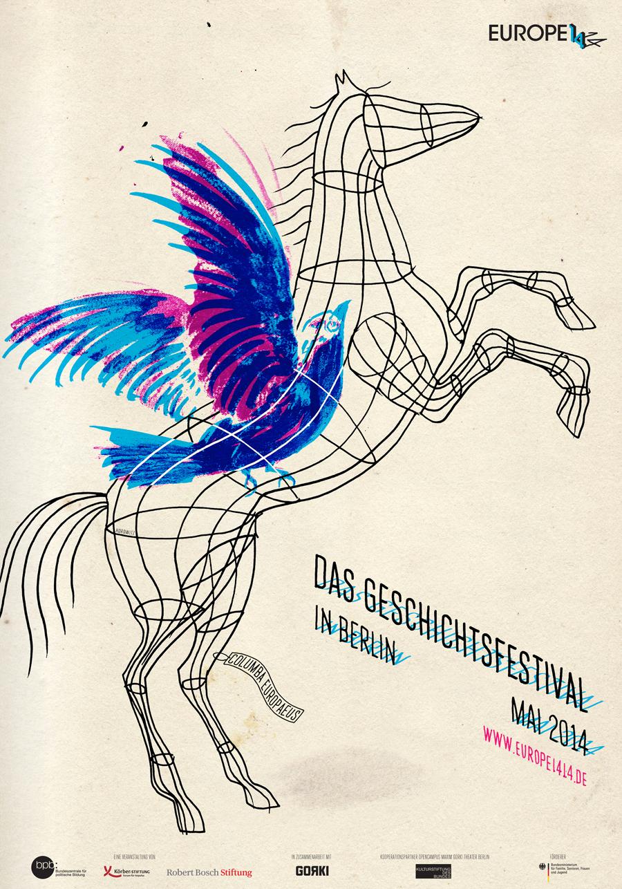 Europe 14|14  Festival poster, 2014