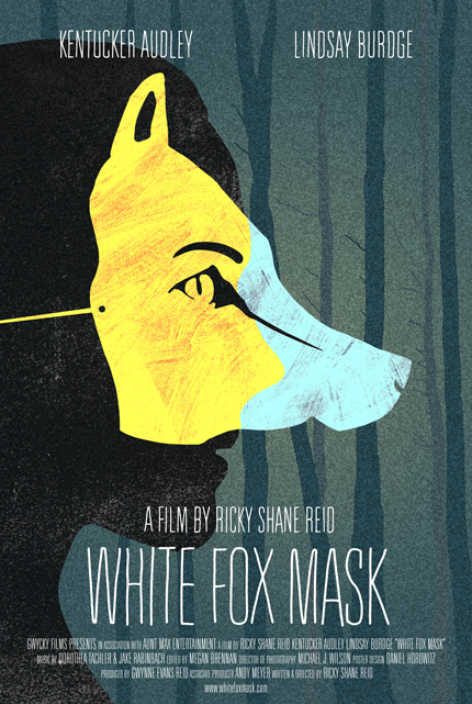 White Fox Mask , Movie Poster