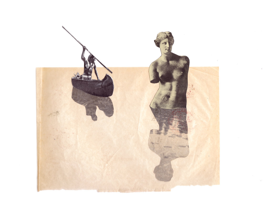15. Sailed a Swan a Dying Siren, 2016, collage, 10 X 13.jpg