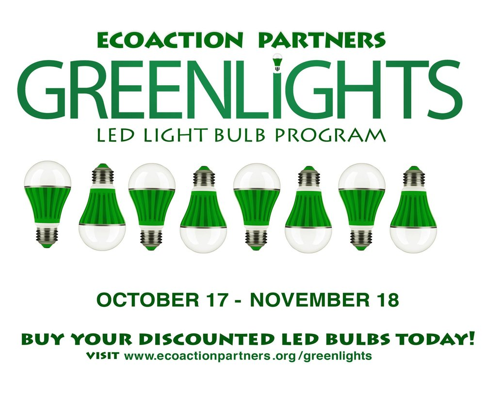 Changing Light Bulbs CAN Change The World!      Thanks to San Miguel Power Association (SMPA) & your local government, Town of Telluride, San Miguel County, Ridgway, City of Ouray & Ouray County residents can buy LED lightbulbs for home & businesses at 75% off!!!      Please Don't Miss This Opportunity -     When it comes to energy savings & reducing greenhouse gas emissions, LEDs are a game changer. LED Bulbs use at least 75% less energy & last 25 times longer. In the US, widespread use of LEDs could save 348 TWh of electricity: this is equivalent to the annual electrical output of 44 large electric power plants (1000 megawatts each) & a total savings of more than $30 billion at today's electricity prices.    Take advantage of this special program! It only lasts til Nov. 18. Don't miss it!       Visit  www.ecoactionpartners.org/greenlights   to BUY NOW!