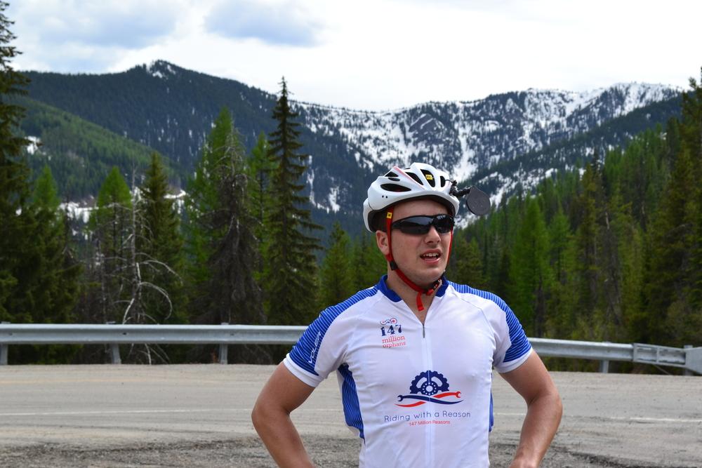 James at the summit