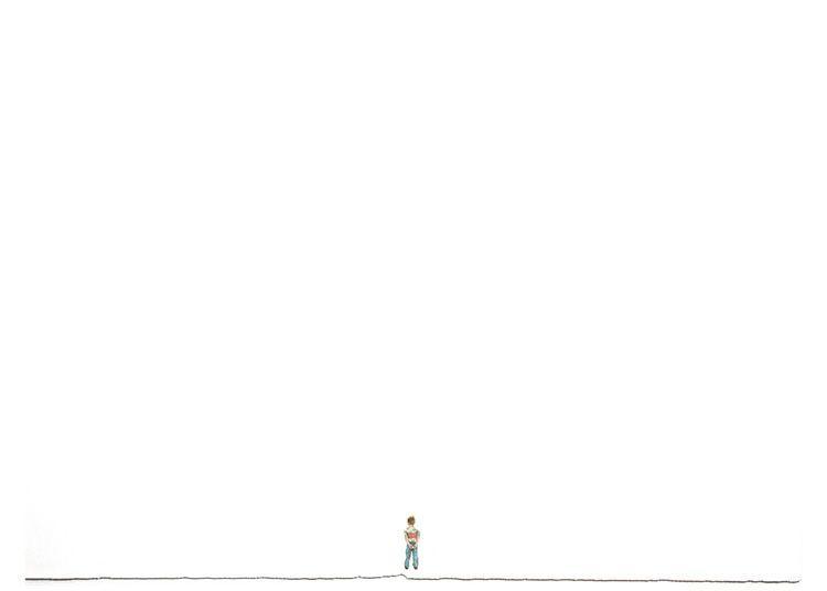 """MICHAEL VASQUEZ  Untitled 2005  watercolor on paper  22 x 30"""""""