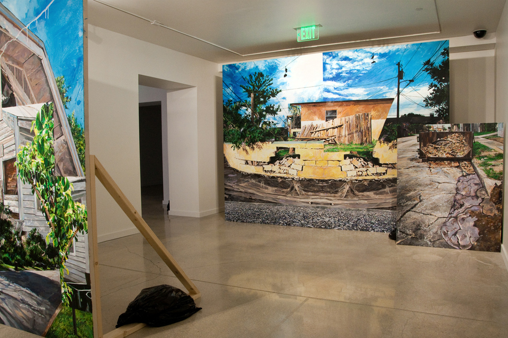 "Michael Vasquez ""Neighborhood Reclamation"" 2015 MDC Museum of Art & Design Installation Image"