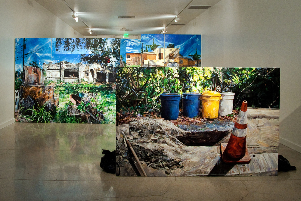 """Neighborhood Reclamation""  Installation Image at MDC Museum of Art + Design"