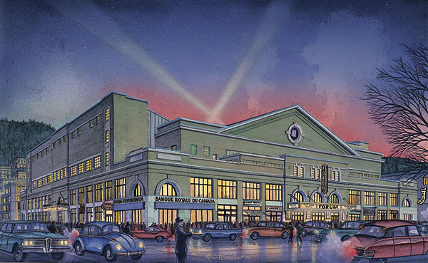 Montreal Forum  By Daniel John Campbell   595 signed and numbered prints