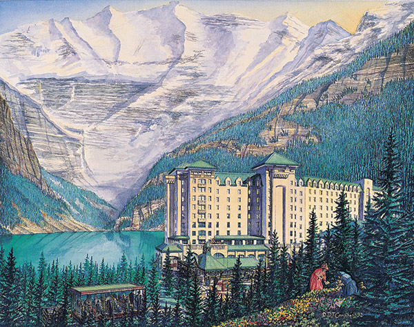 Lake Louise   By Daniel John Campbell   350 signed and numbered prints