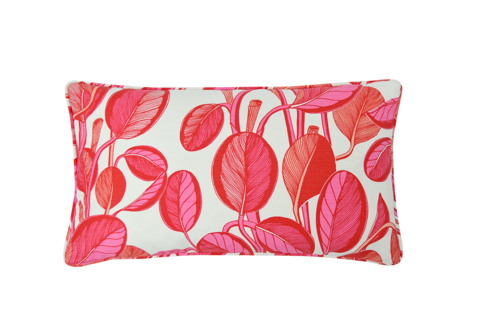 CALATHEA Small Cushion | Coral
