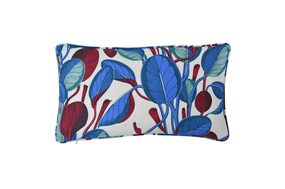 CALATHEA Small Cushion | Cobalt