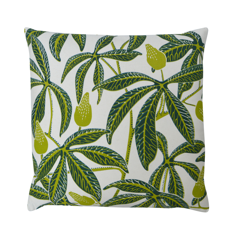 PASSIFLORA Large Cushion | Zest