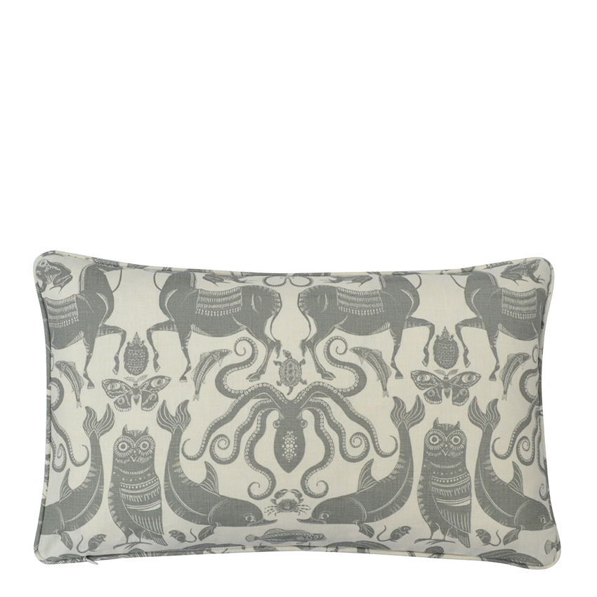 BIRDS & BEASTS Small Cushion | Dove