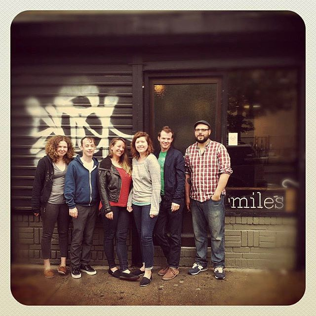Just came across this pic of the original MILES crew 5 years ago! #tbt #whenwewereyoung(er)