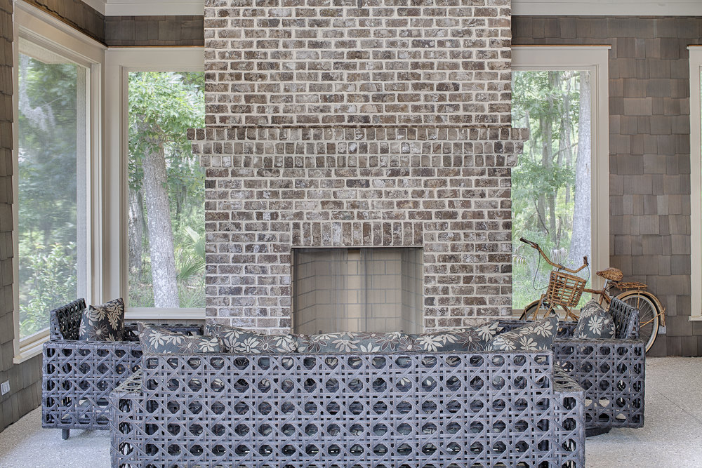 Georgetown Outdoor Fireplace