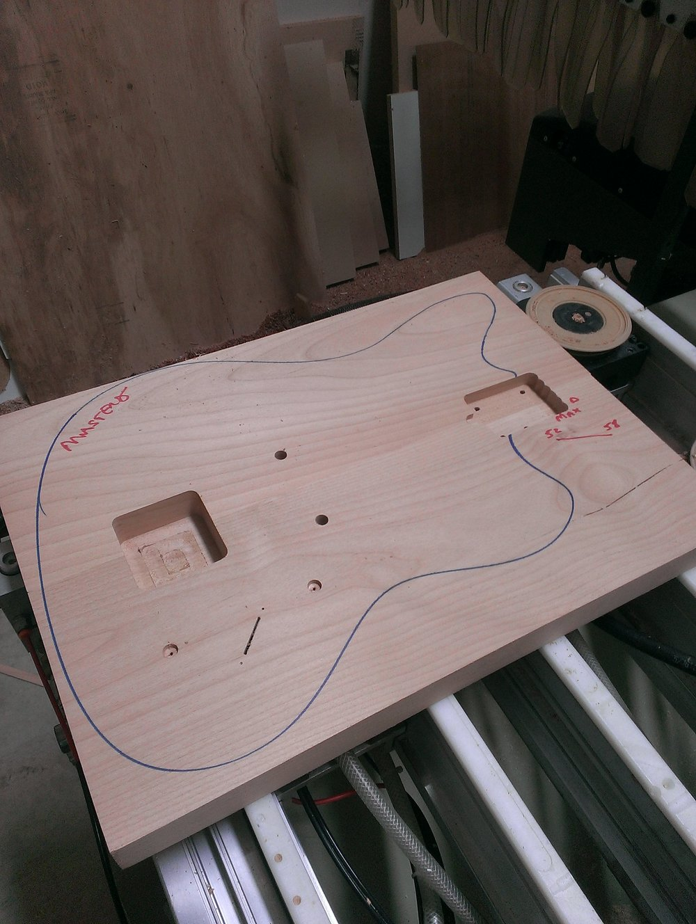 Making a guitar is easy - just take a piece of wood and cut off everything that doesn't look like a guitar.