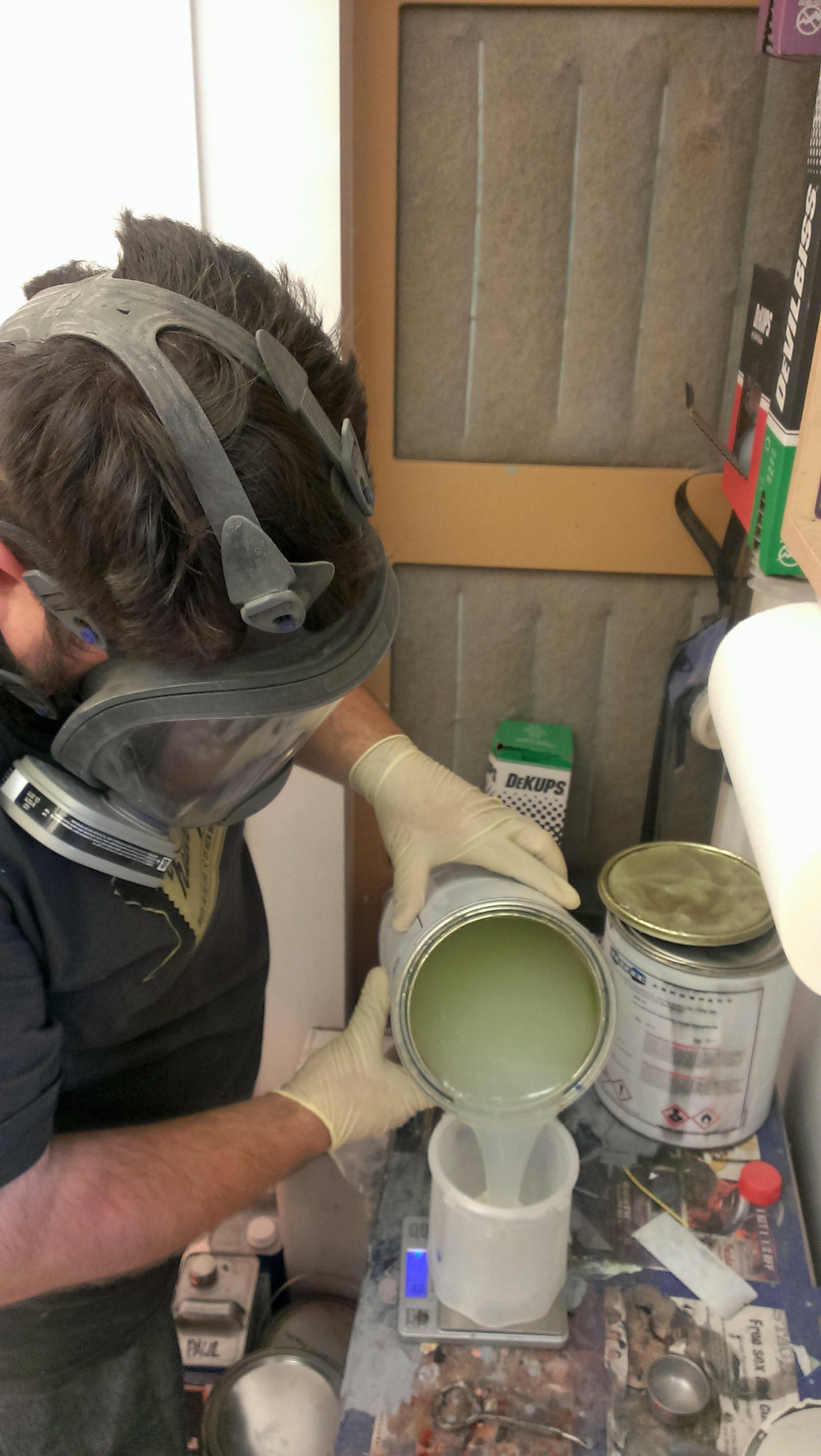 Doug goes full Walter White with strange goo and scales and measuring devices.