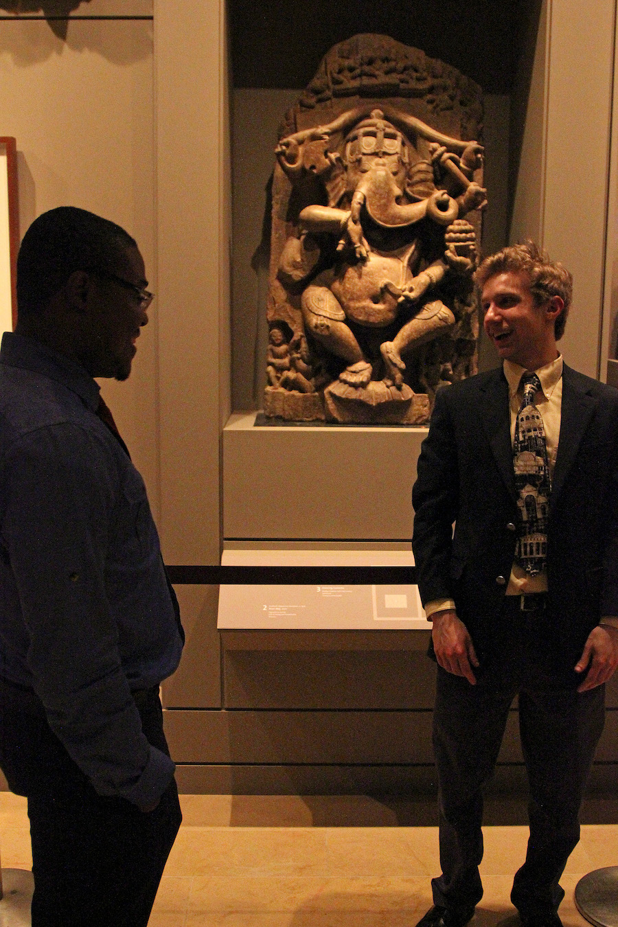 Kokou Akpotou and Ethan Lowenthal at Rubin Art Museum. Silley Circuits: The Silicon Alley Network.