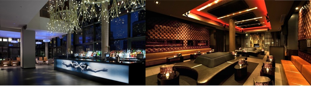 Gansevoort Rooftop Bar and VIP Red Room