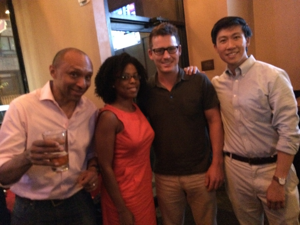 Jean-Luc Neptune, Delisha Grant, Guest, Spencer Cheng