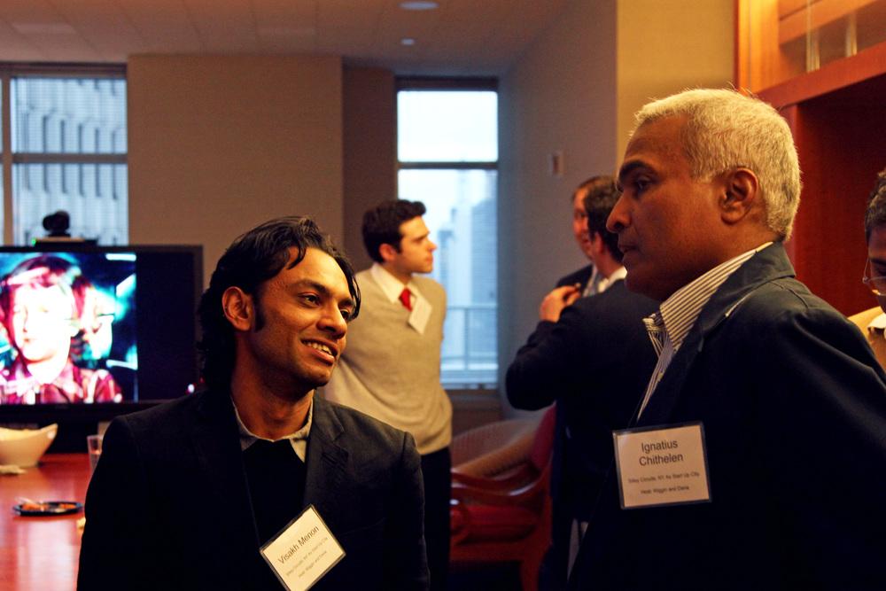 Visakh Menon and Ignatius Chithelen