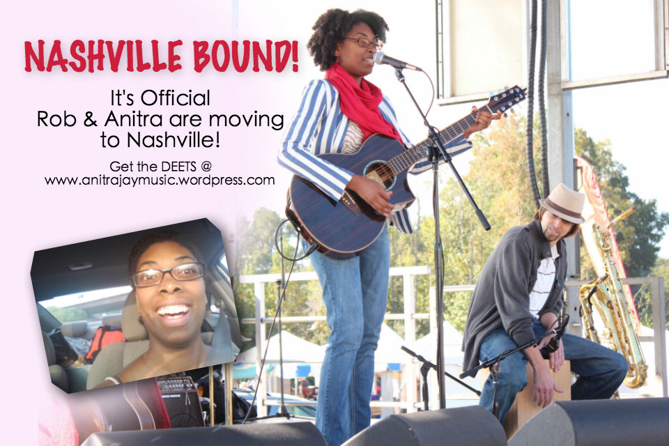 Anitra Jay is moving to Nashville!