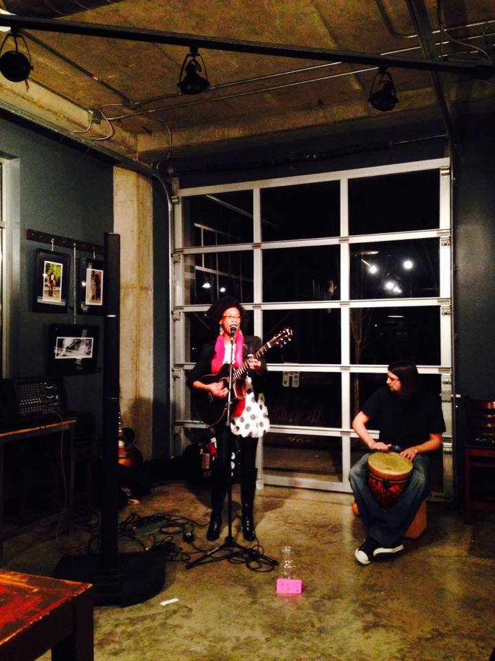 Anitra Performing at Ugly Mugs in East Nashville