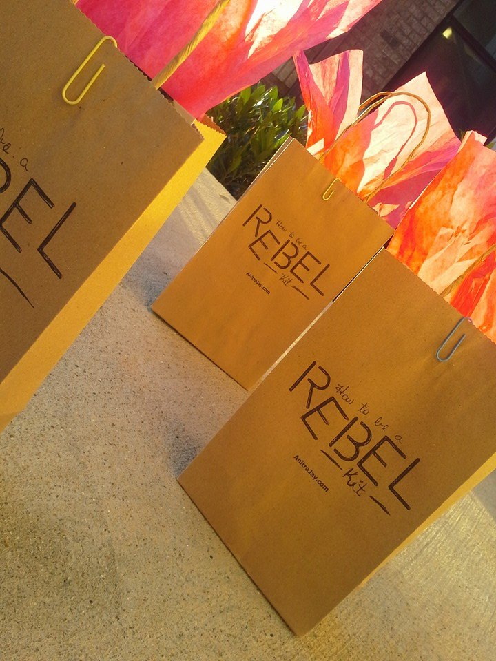How to Be a Rebel VIP Gift Bags