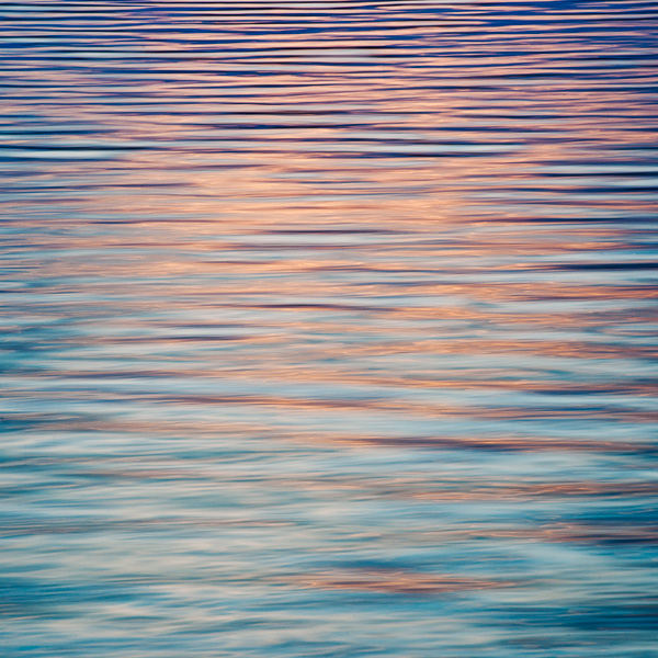 """Waterscape Blue/Red #5"", Copyright Jim Nickelson. All Rights Reserved."