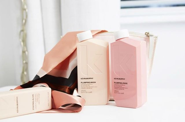 PLUMP.me @love_kevin_murphy ! there is truly no better thickening/hair growinnnn shampoo/conditioner treatment on the market besides these babies. if u suffer from hair loss due to stress, medication, hormonal changes - BUY this. it is so amazing. TOO amazing. for boys and girls both ! sold at @prephair
