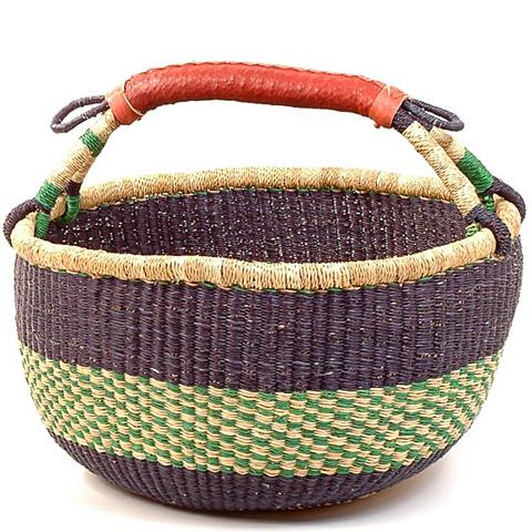 African Market Basket Oval