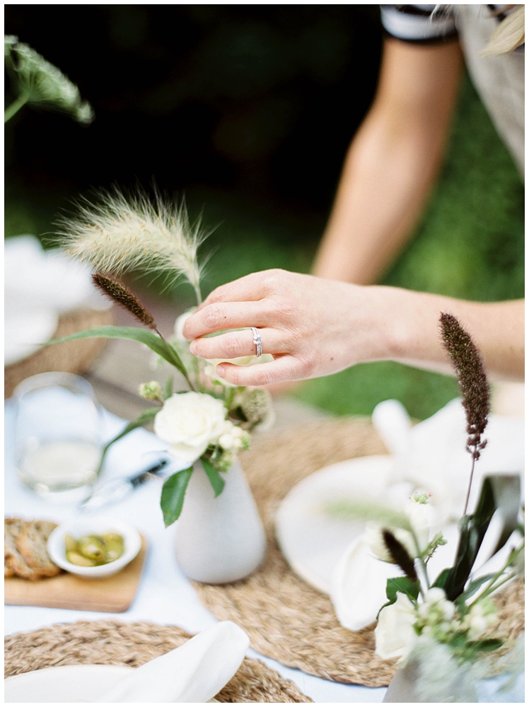 Finding Florals in the Northwest with Jenni Kayne and March Floral | Seattle Brand Photographer | Destination Brand Photographer