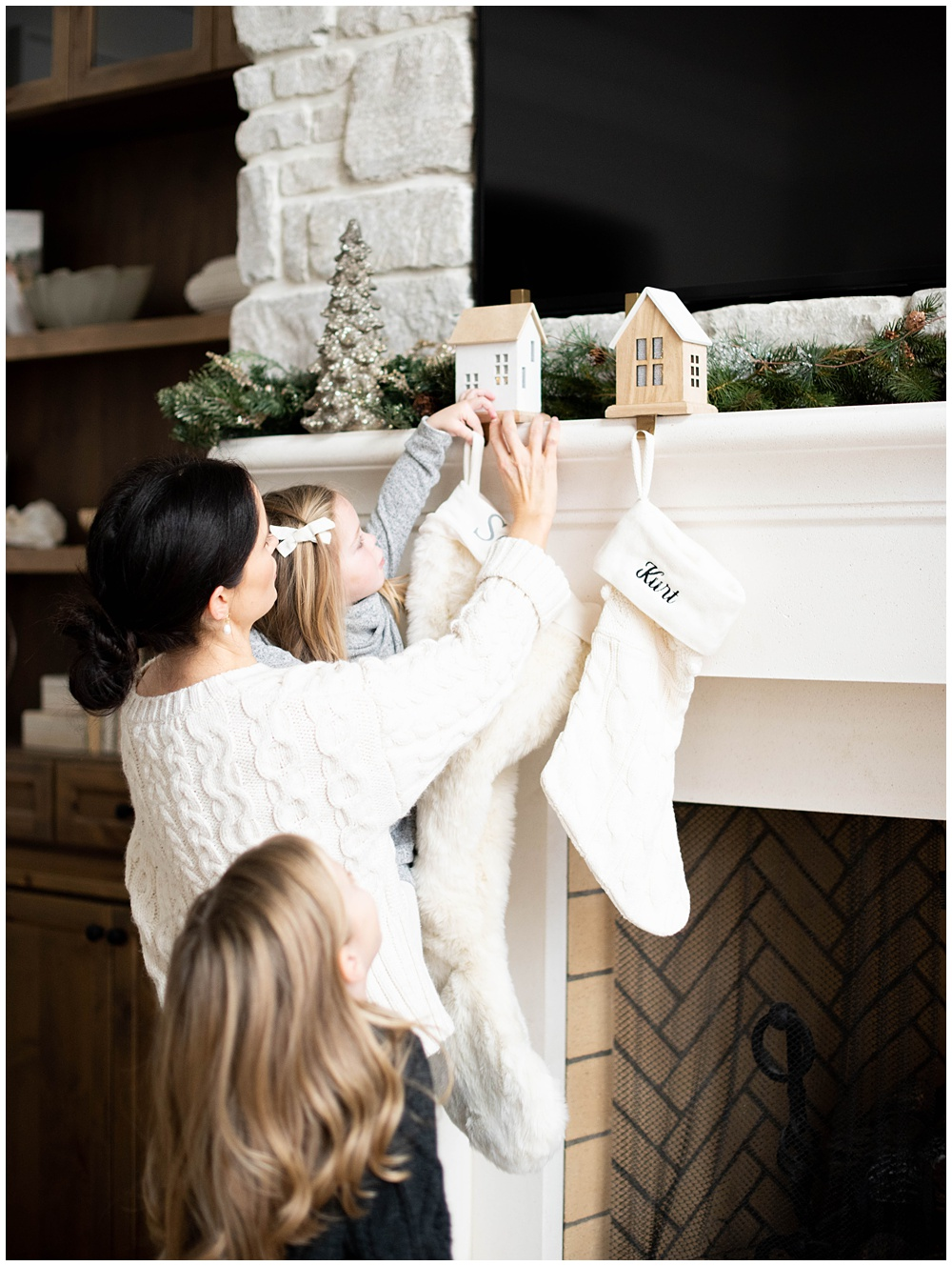 Christmas activities at home with the Wilson Girls | Seattle Fine Art Family Photographer | Destination Family Photographer