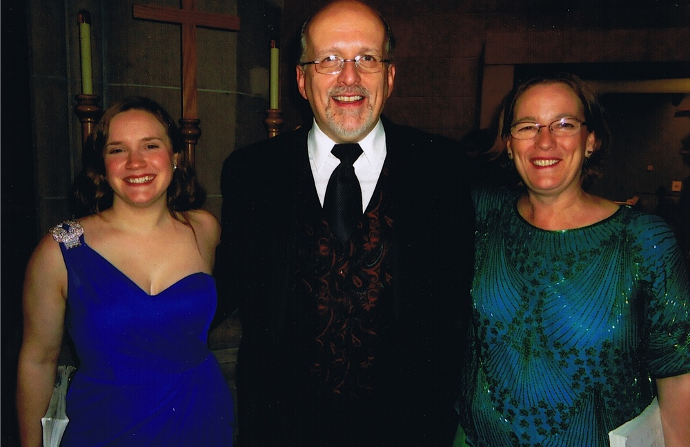 Handel's  Messiah  with Saint John's Cathedral Choir and Orchestra, Denver, December 2011 - with organist Richard Robertson and mezzo-soprano Marjorie Bunday