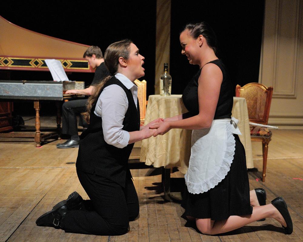 L'Incoronazione di Poppea , Peabody Conservatory, October 2013 -with soprano Rebecca Wood
