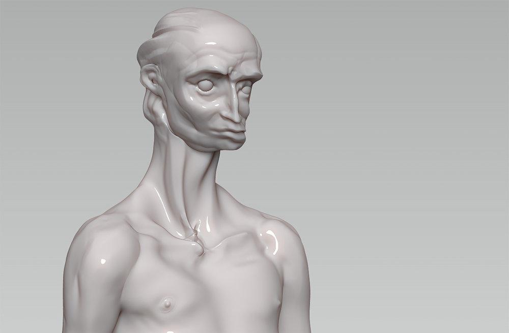 Max Brazier-Jones concept art portrait 2