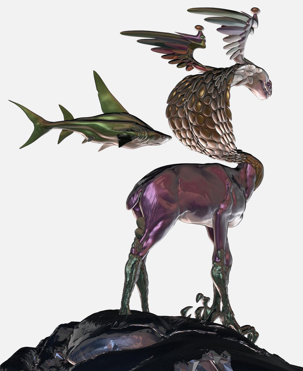 Max Brazier-Jones concept art creature beast zbrush 1