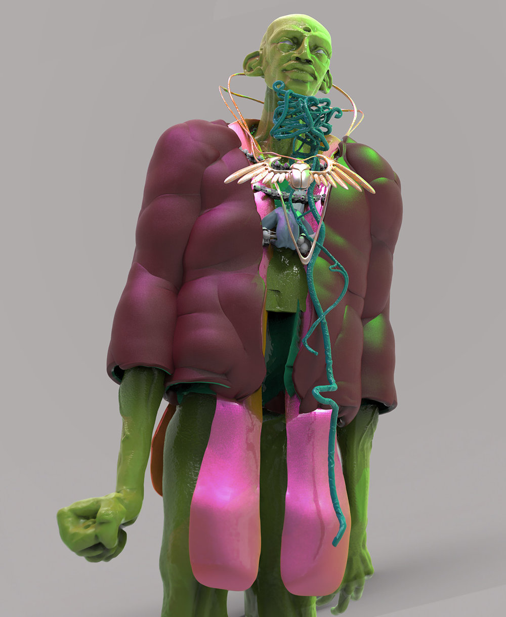 Max Brazier-Jones concept art nomad costume design