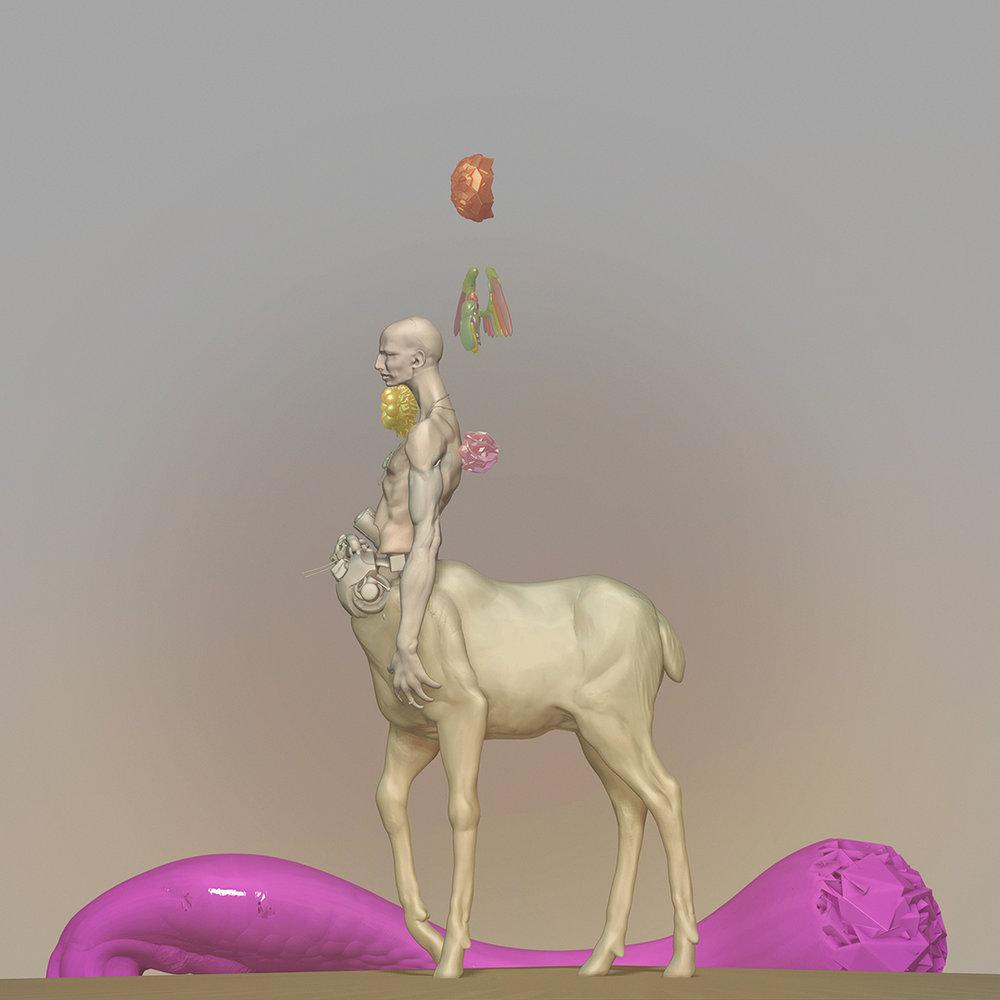 Max Brazier-Jones concept art centaur