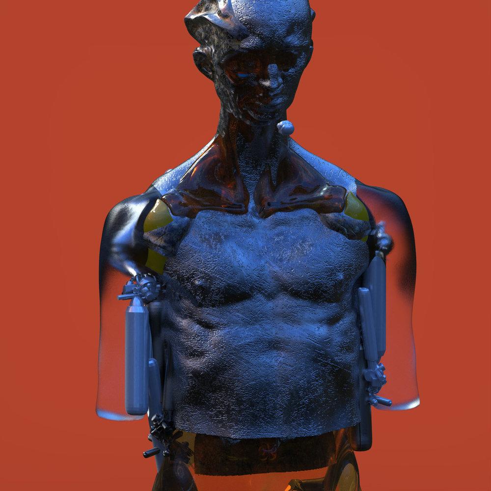 max brazier-jones concept art robot bionic mecha