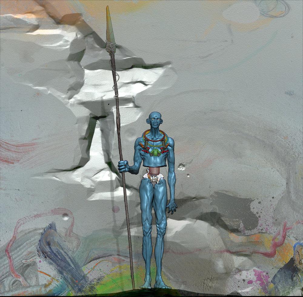 max brazier-jones concept art nomad character design zbrush