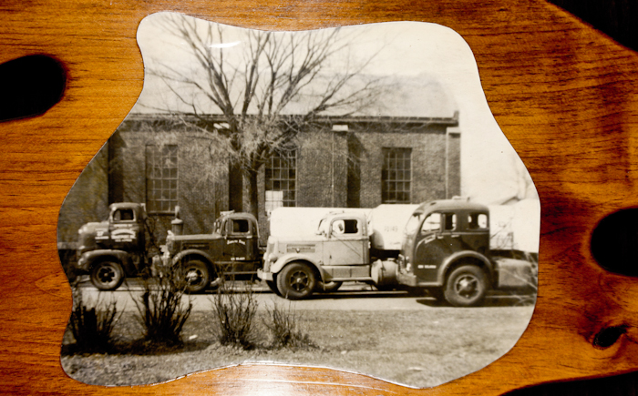 Wayne Transports - Early Fleet of trucks 1950s