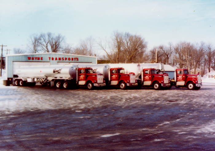 Wayne Transports - Early truck fleet growth