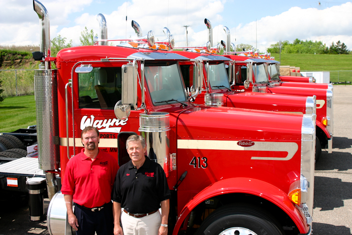 Wayne Transports Owners - Carl and Mark