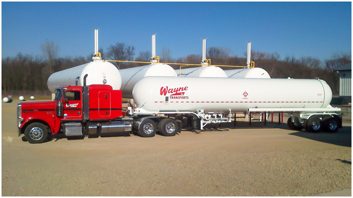 Propane Trucks & Transportation