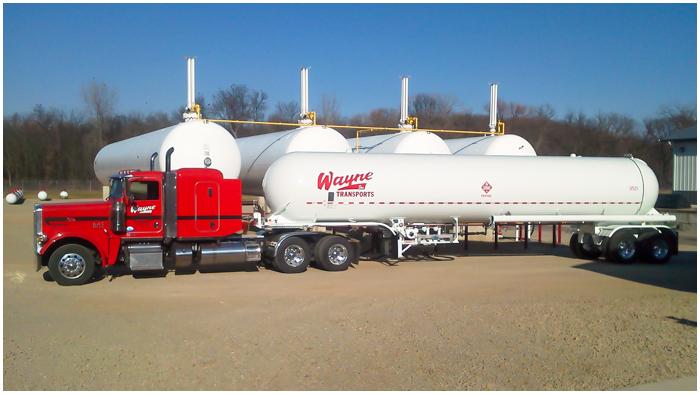 Propane Trucks & Transportation