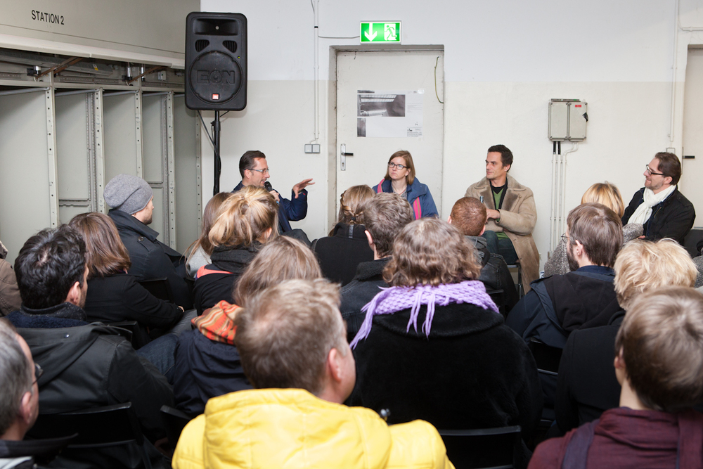 v.l.n.r. Peter Schiering, Cordelia Polinna, Axel Timm, Thibaut de Ruyter