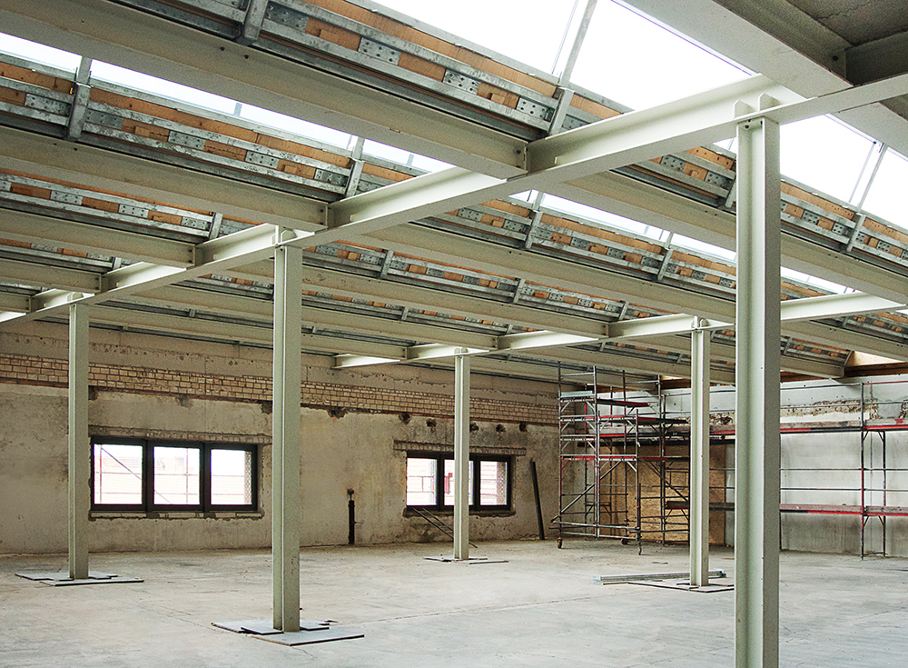 Umbau im M2 (2. Etage Maschinenhaus)
