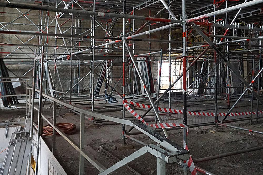 Umbau M0 (Erdgeschoss Maschinenhaus)